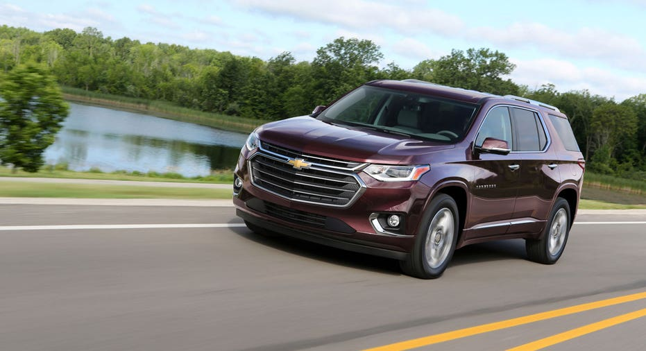 2018 Chevrolet Traverse on the road FBN