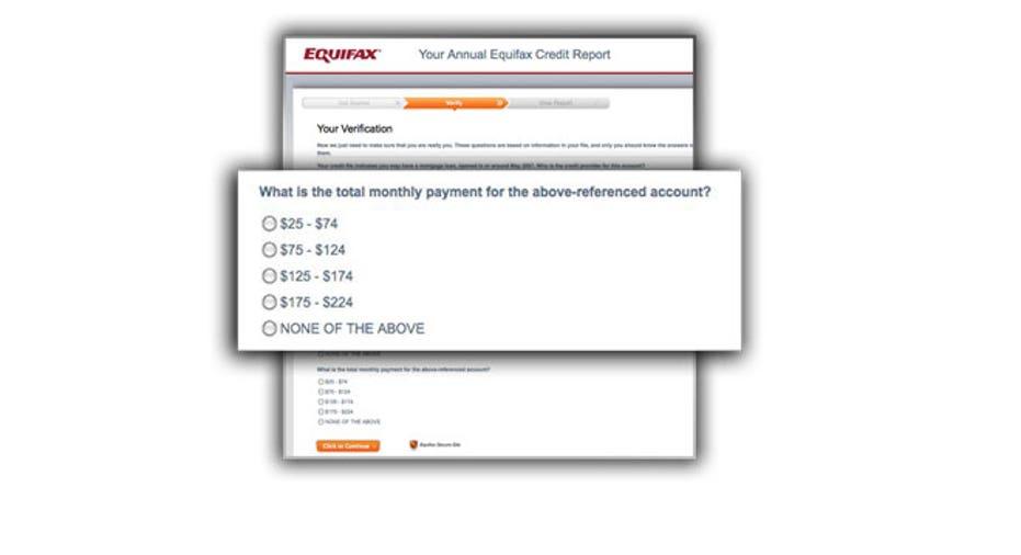 credit report, equifax