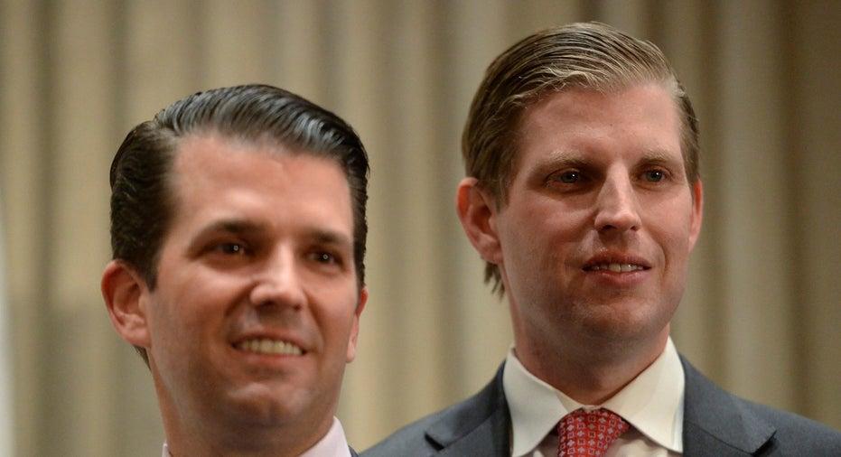 eric and donald trump jr
