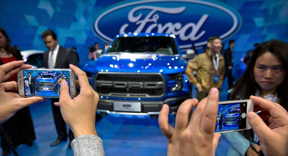 Ford truck China auto show FBN AP