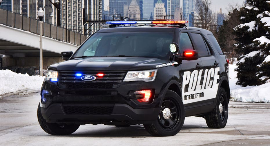 Ford Police Interceptor Explorer SUV FBN