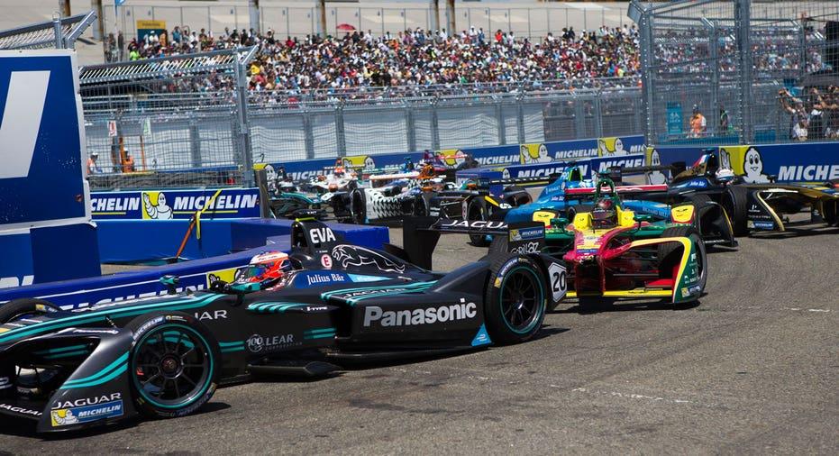 Formula E cars, racing FBN AP