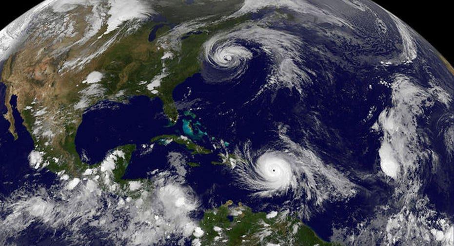 Hurricane Maria  NASA/NOAA GOES Project/Handout via REUTERS
