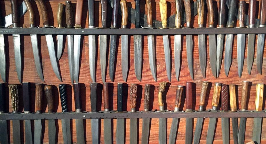 Strange Inheritance Knives