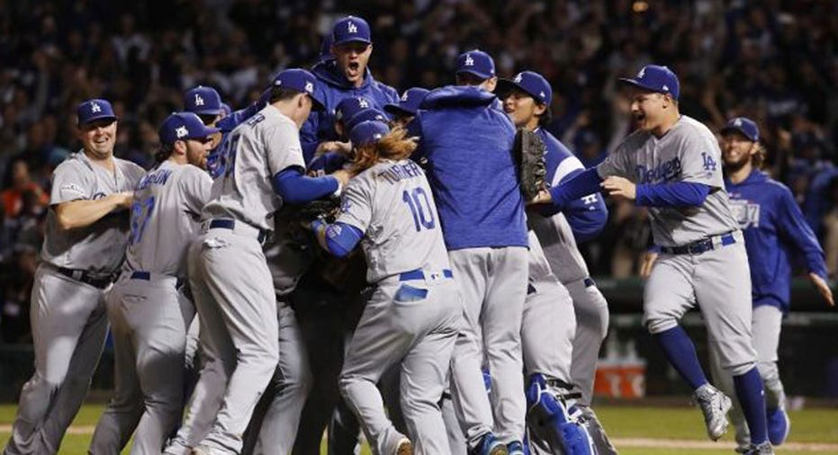 Dodgers Win NLCS Jim Young-USA TODAY Sports