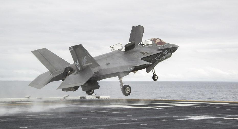 Lockheed Martin F-35 taking off FBN