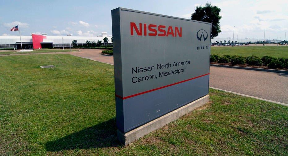 Nissan Mississippi plant sign FBN AP