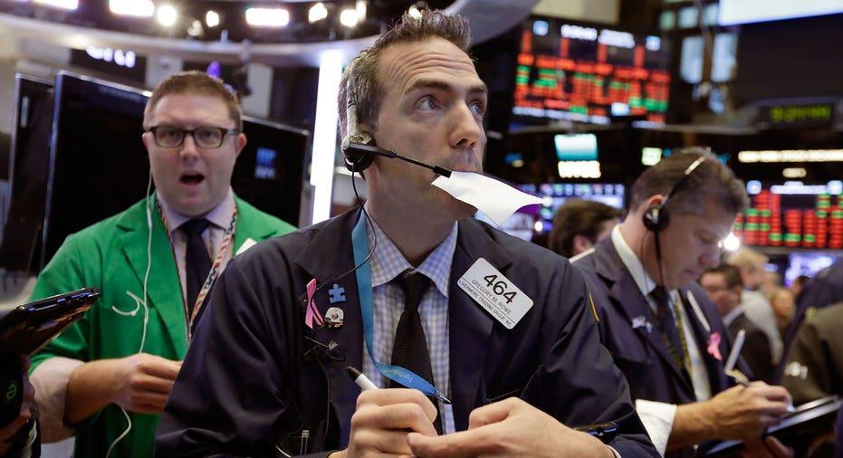 NYSE trader November 15 2017 AP FBN