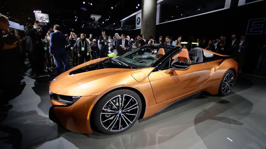 LA Auto Show BMW i8 AP FBN