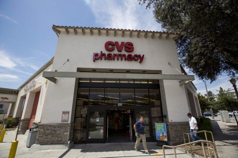 CVS Stock Crushed, On Prescription War With Walgreens ...