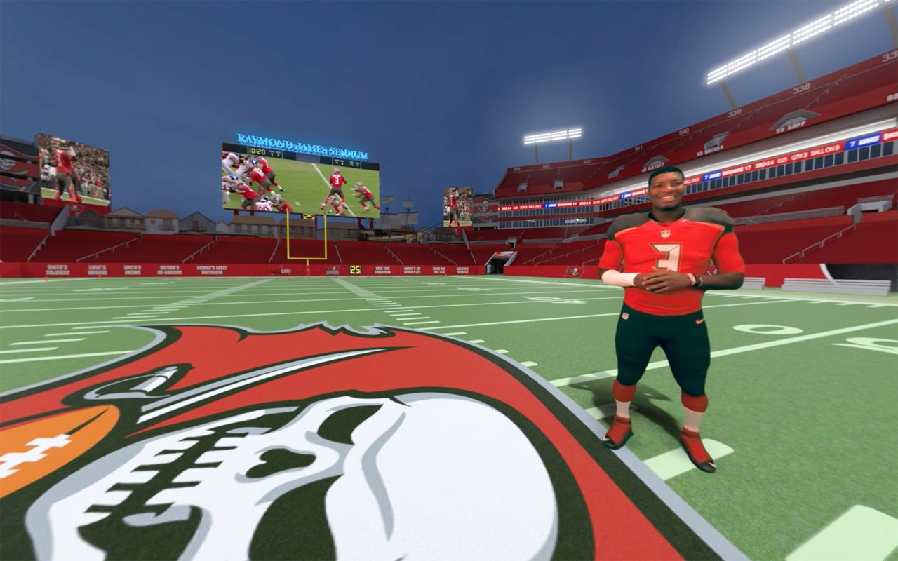 tampa bay buccaneers bring virtual reality to the gridiron fox business tampa bay buccaneers bring virtual