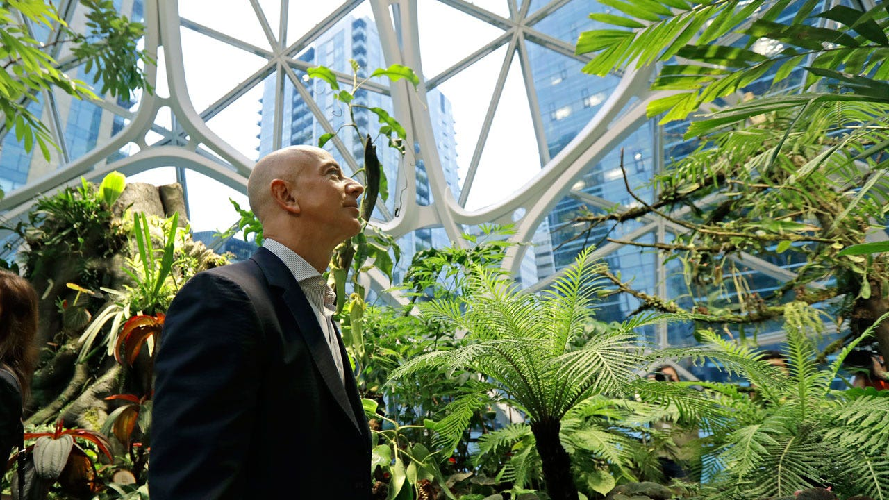 Jeff Bezos commits $10B to climate-change fight