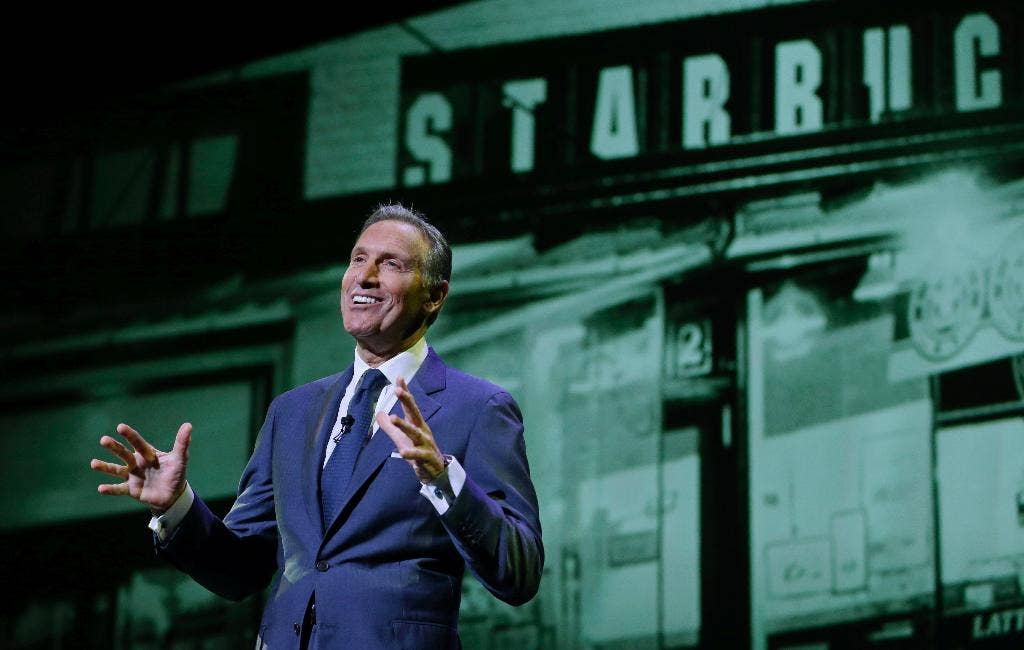 Howard Schultz now has $100M to play with after scrapping
