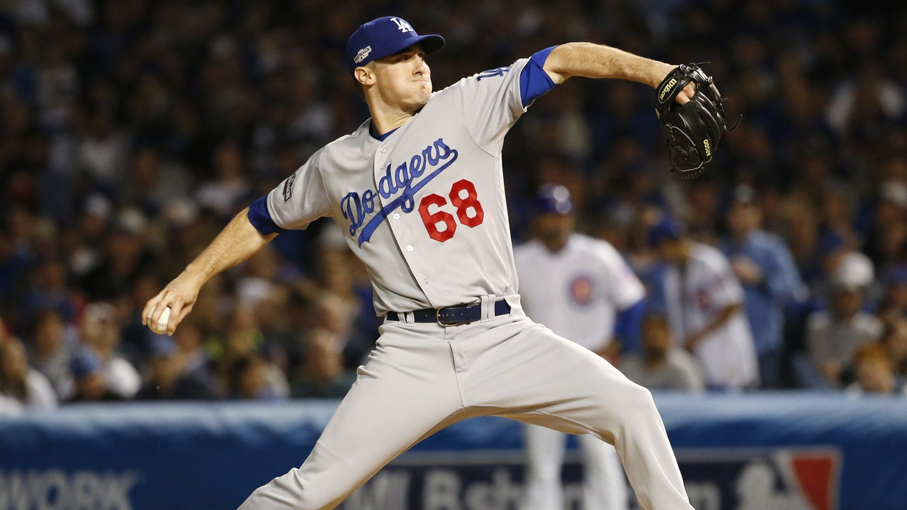 Dodgers ross stripling pitcher and licensed stockbroker fox dodgers ross stripling pitcher and licensed stockbroker fox business buycottarizona Image collections