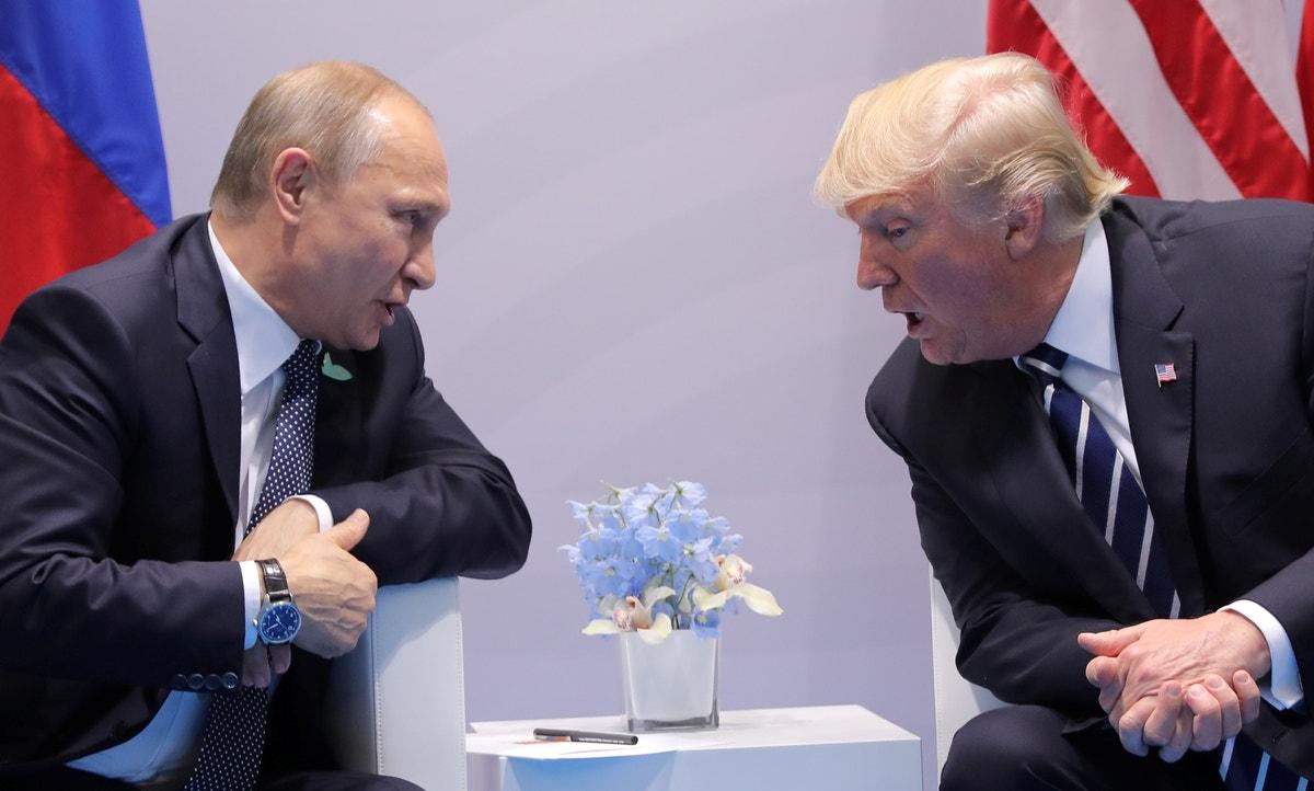 Russia boosting Trump re-election bid, Intel officials tell Congress
