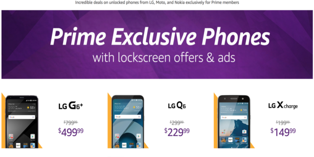 Amazon Nixes Lock-Screen Ads on Prime Exclusive Phones | Fox