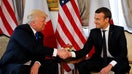 Macron tweets he and Trump reach truce on taxing tech companies