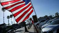 US economy expanded by 6.4% in first quarter, pointing to fastest growth in years