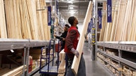 Lowe's raises earnings outlook, shares jump