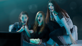 Remember your first scary movie? Here's the average age Americans see one