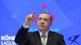 Turkey's Erdogan won't discuss Syrian ceasefire with Pence