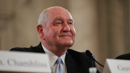 Perdue defends, celebrates USDA agency moves to Missouri