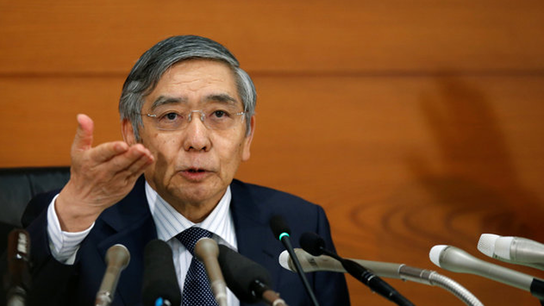 Kuroda and BOJ keeps policy unchanged, slightly more upbeat on inflation outlook