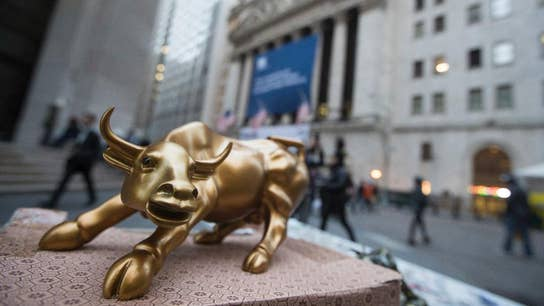 The stock-market bull is still on its feet