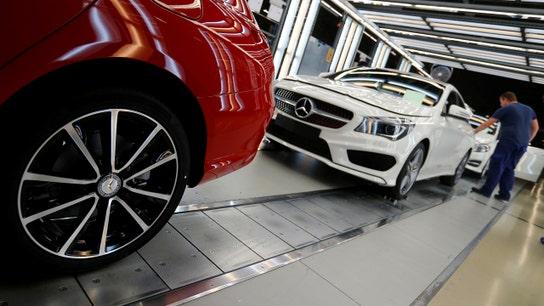 Trump threatens 20% tariffs on European auto makers