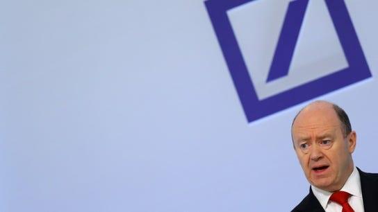 Deutsche Bank posts sizable loss, triggering share slide