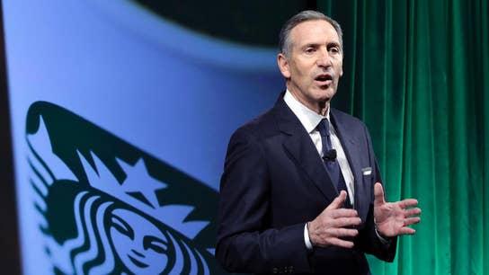 Starbucks braces itself as Howard Schultz mulls 2020 run, prepares for Democratic backlash