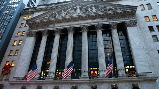 Dow slips 219 points as Trump signals missile strike on Syria