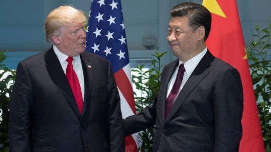 Trump considers big 'fine' over China intellectual property