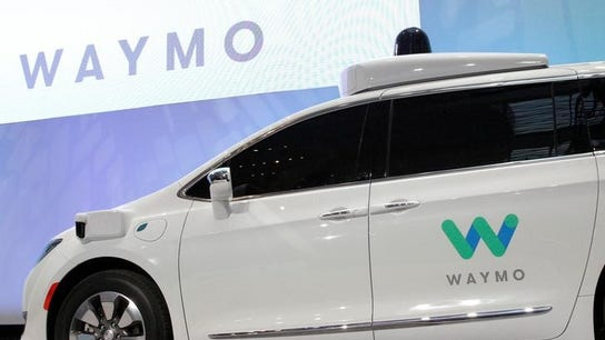 Waymo's self-driving car takes its first live televised ride-along with FBN
