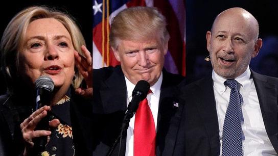 Goldman CEO: Economy stronger under Trump than if Clinton won