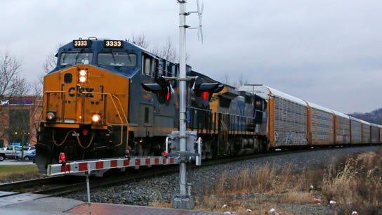 Railroad operator CSX's quarterly profit tops Wall Street target