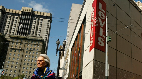 Levi's jeans draw New York City environmental protest