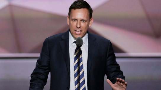 Google working with China but not US military is 'peculiar': Peter Thiel