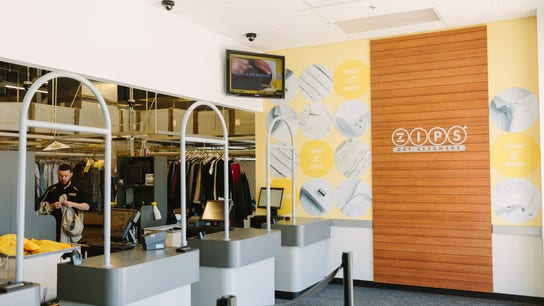 ZIPS Puts a Low-Cost Spin on Dry Cleaning