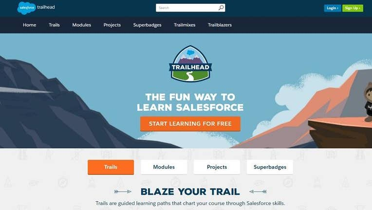 Salesforce Trailhead Makes The Paper Resume Obsolete | Fox Business