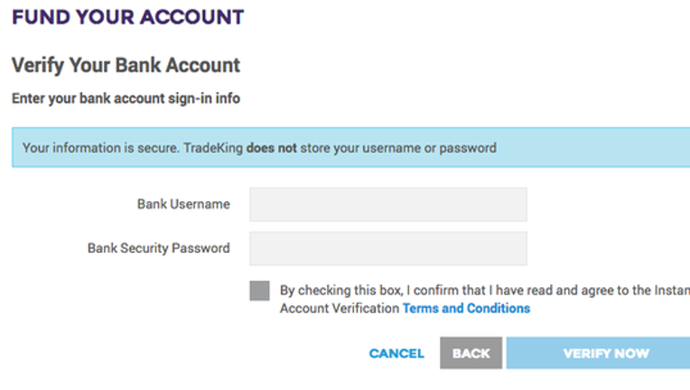 Tradeking forex account login