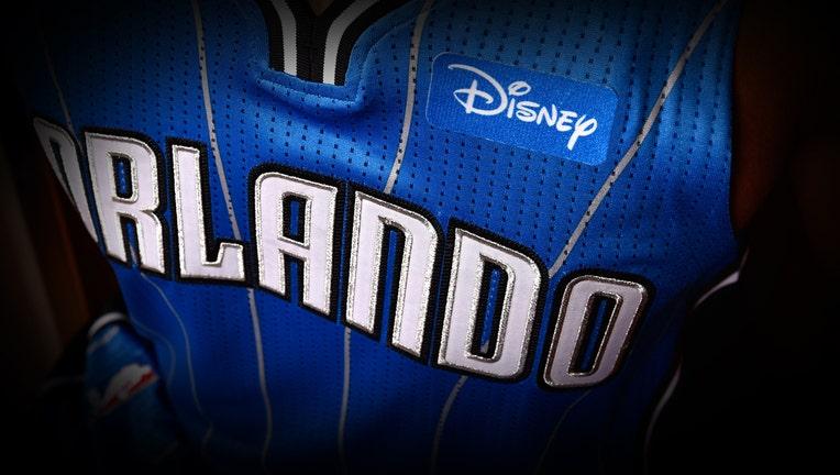 new concept ca4a9 95440 Disney, NBA's Orlando Magic reach jersey sponsorship deal ...
