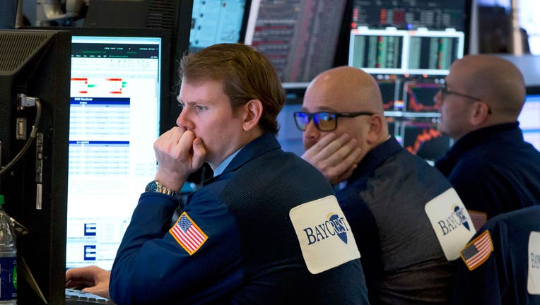 Markets Right Now: Stocks plunge on worries over trade