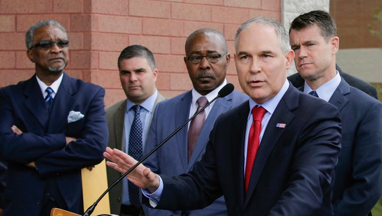 EPA chief spent almost half of spring in home state of Oklahoma