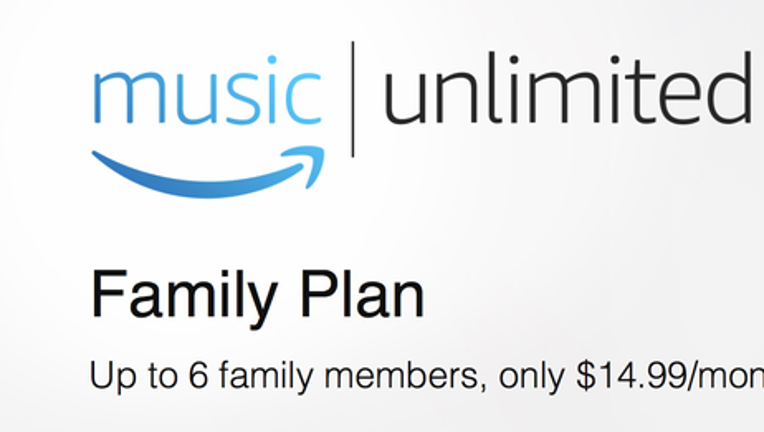 Amazon Music Unlimited Family