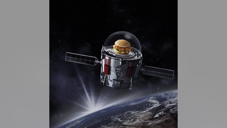 KFC launches a chicken sandwich into space   Fox Business