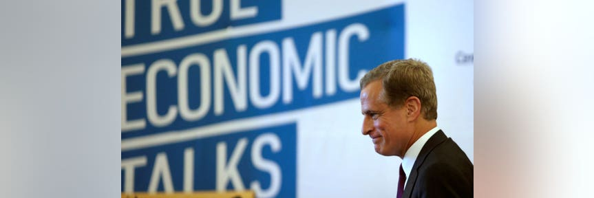 Dallas Fed's Kaplan says US economy is 'more sluggish'