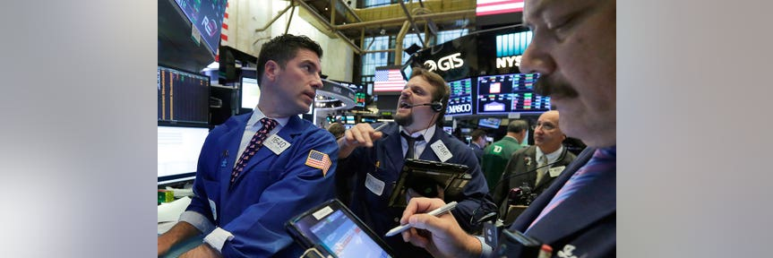 Stocks jump for third session with Walmart, Cisco driving gains