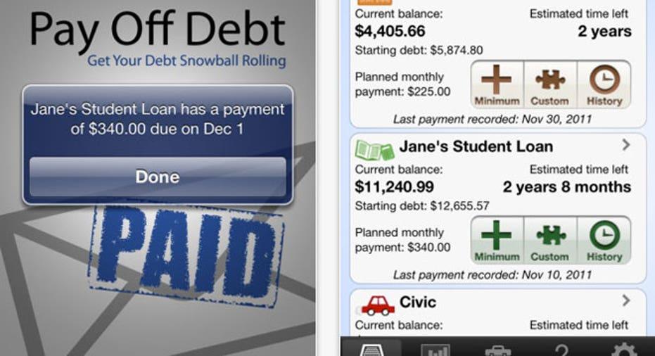 Pay Off Debt App, PF Slideshow