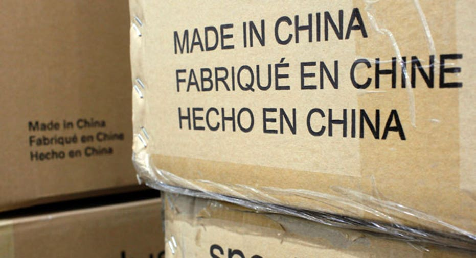 Boxes With Made in China Label